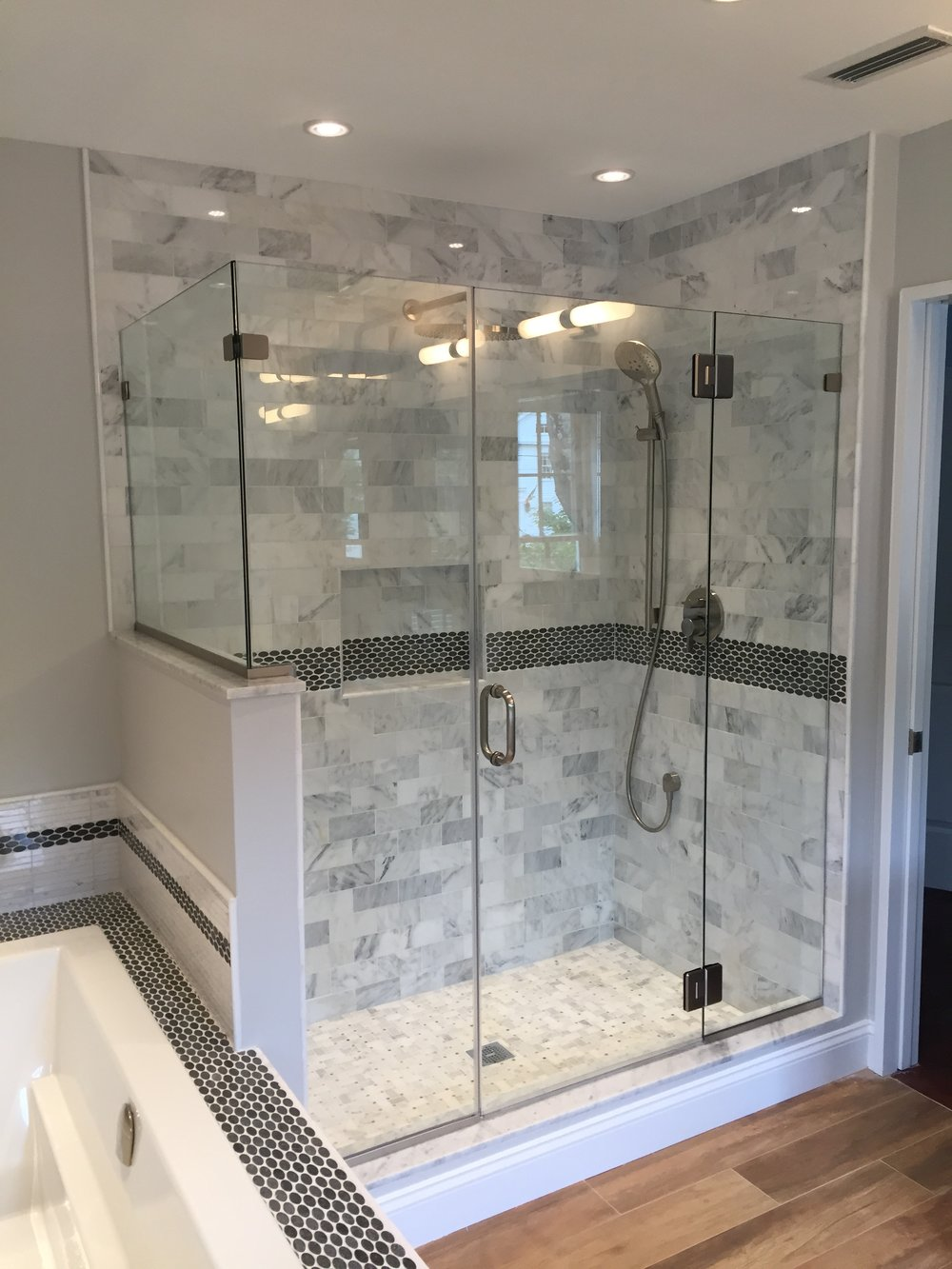 Bathroom Remodel Essex - Shaw Remodeling Shower.JPG