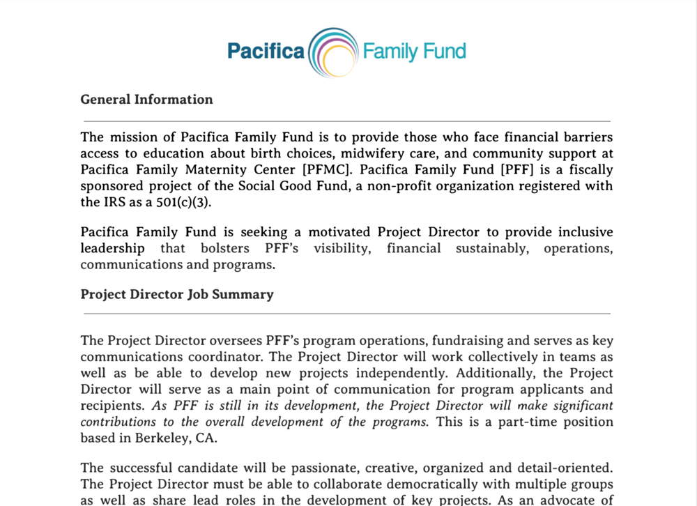 CLICK to view full job posting -