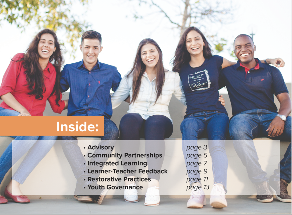 NEW! - Tools for constructive dialog and meaningful change for youth-adult partnership in schools and communities. - Click through for details and the free, downloadable file.