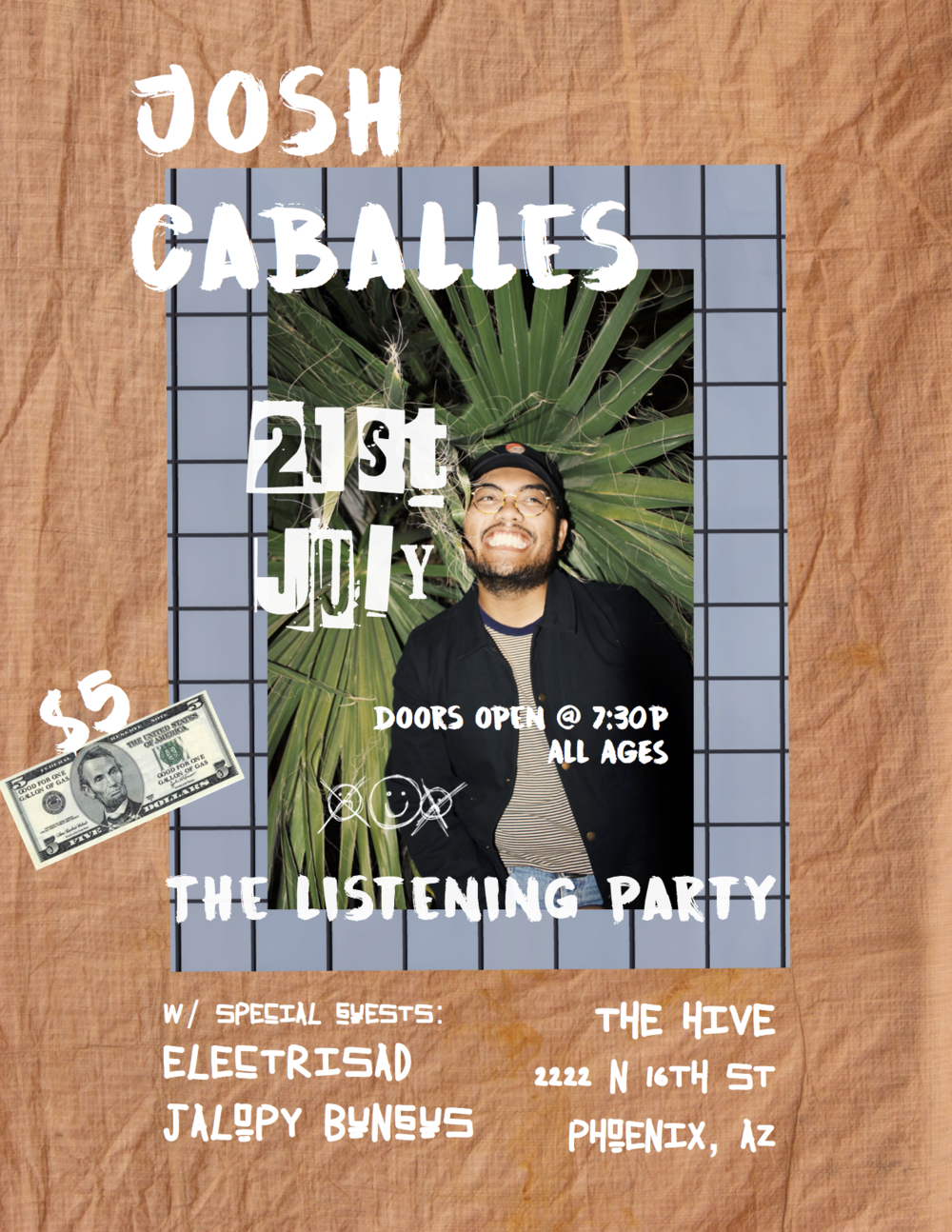 The Listening Party - 7.21.17 | 7:30PM | 222 N 16TH ST