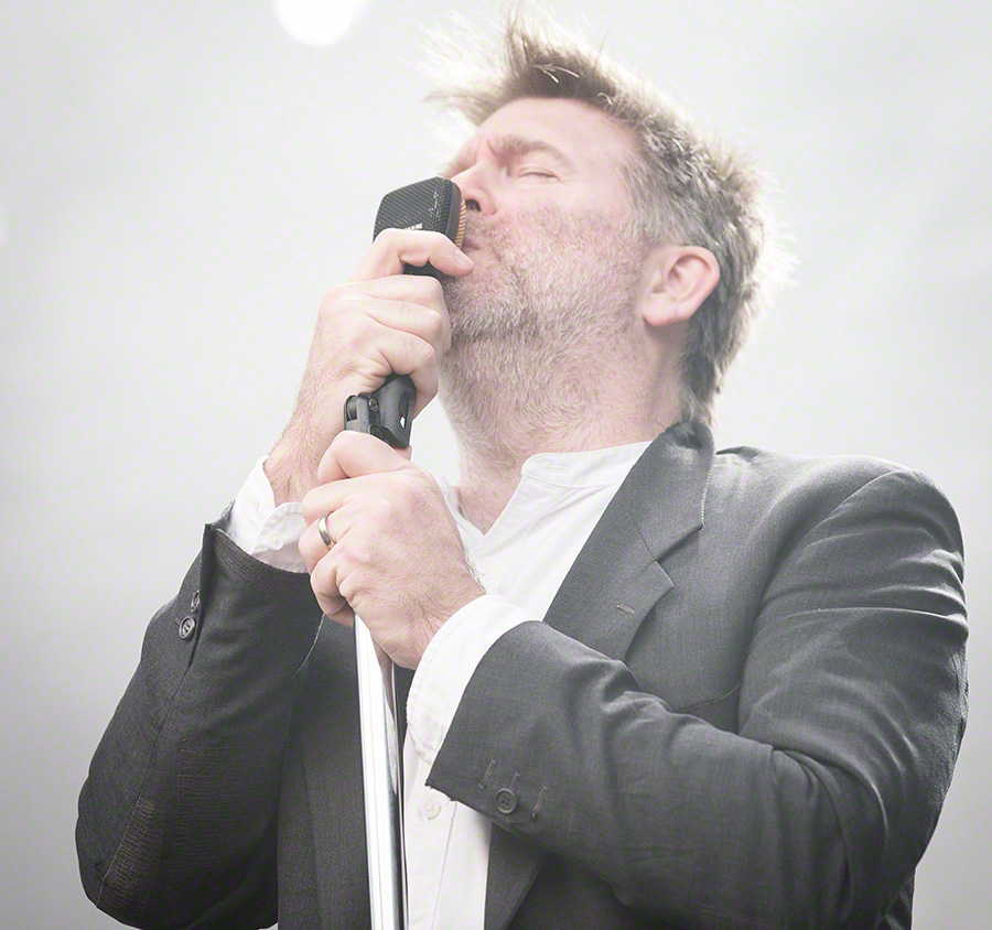 LCD Soundsystem performs at Q25 Jubileumsfesten in Kristiansand in June, 2016.