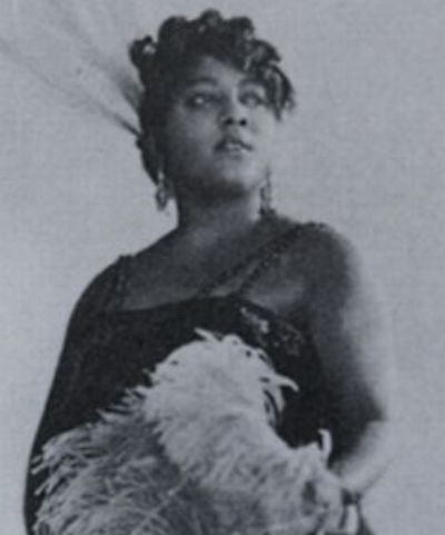 Mamie Smith. Image courtesy of the Library of Congress.