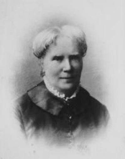 Elizabeth Blackwell. Image courtesy of The Schlesinger Library, Radcliffe Institute, Harvard University.