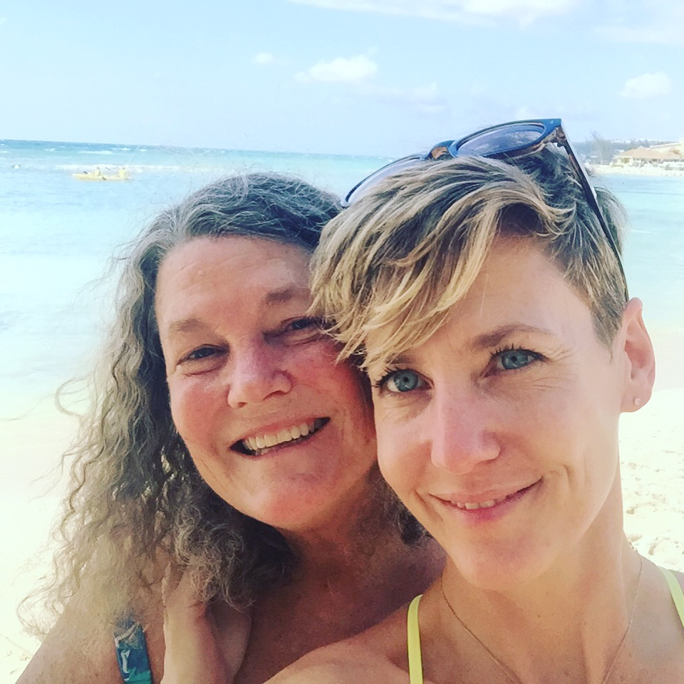Rachel and mom Norton Roberts