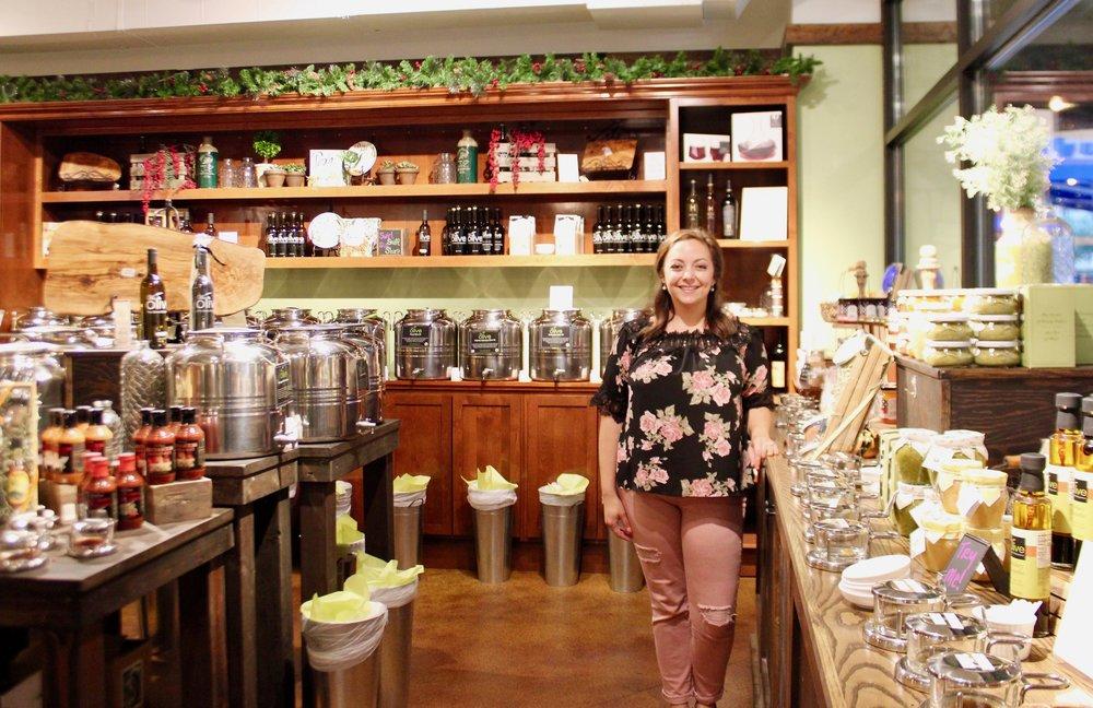 Leah Jones, co-owner of We Olive Cincinnati.