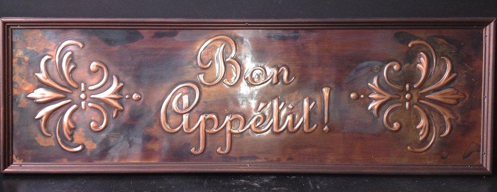 "Bon Appetit 10""x30"""
