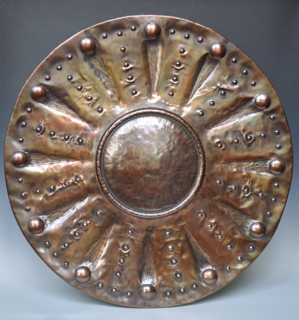 "Earthy Brown Platter - 29"""