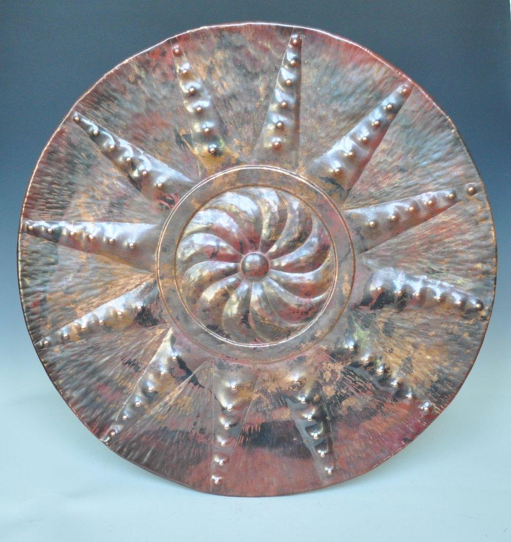 """Red Nova Platter - 24"""""""
