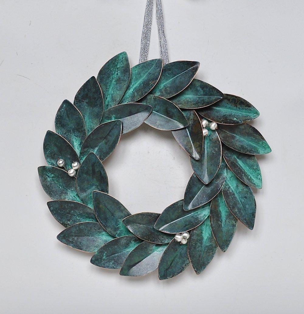 "Green Wreath - 20"""