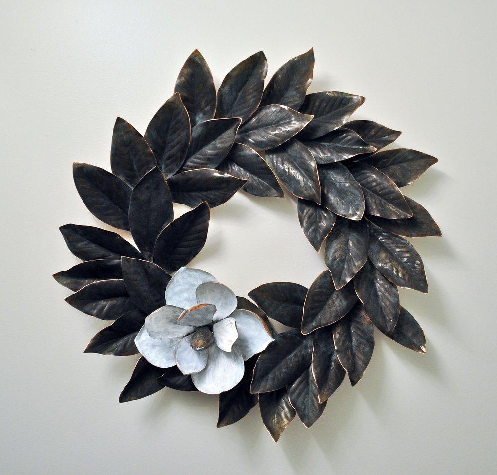 """Magnolia Wreath - 30"""""""