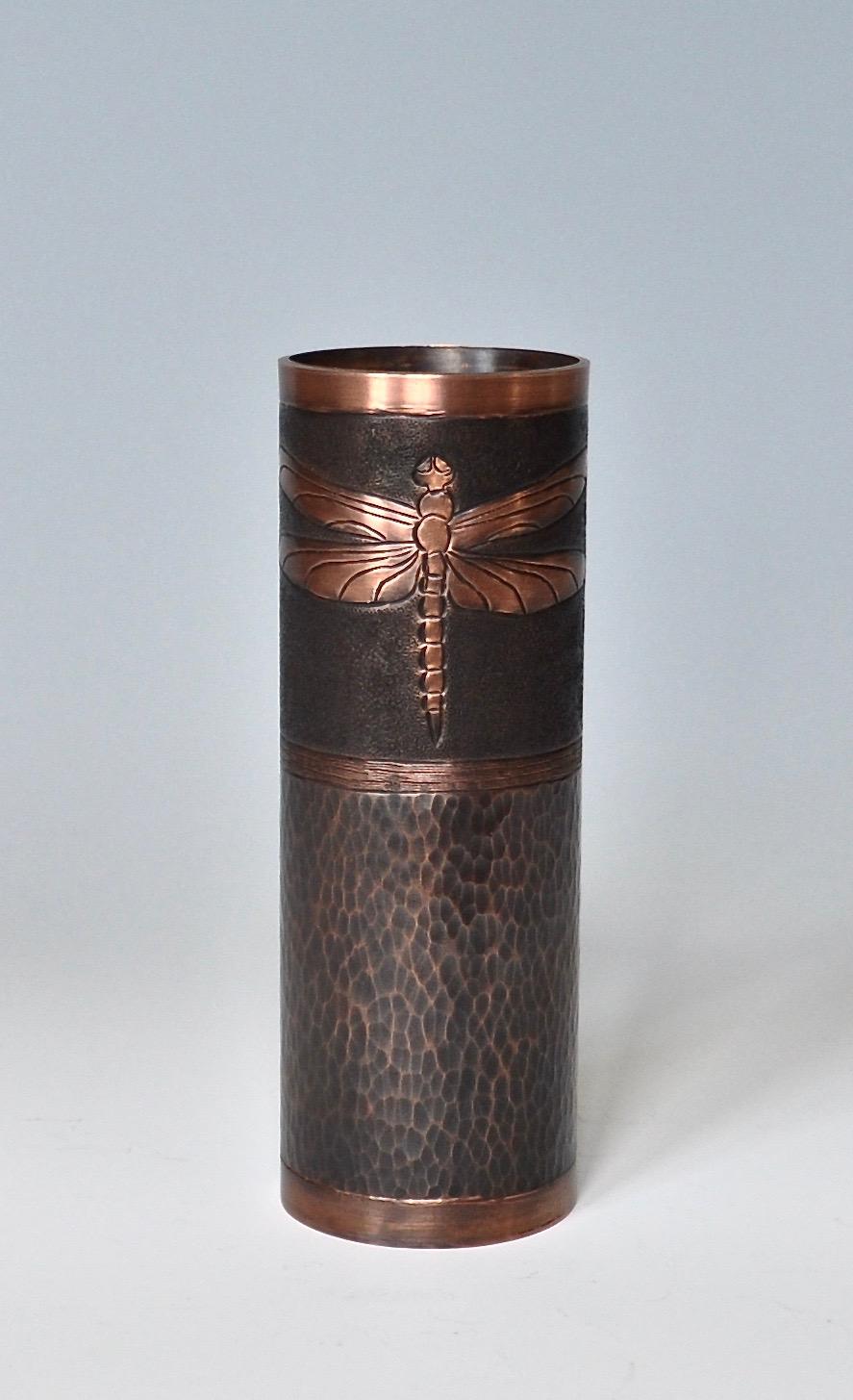 """Dragonfly Vase - 2"""" x 6"""""""
