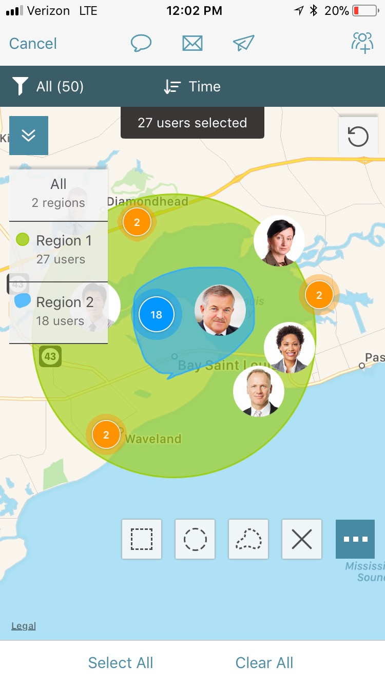 Track Your Personnel On-Site and Off-Site - Create perimeters using geo-fences and Bluetooth beacons to track employees, essential personnel, and vendors.