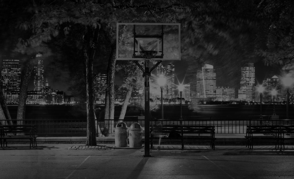 HUSTLE & GRIND - NEW YORK TRULY IS THE CITY THAT NEVER SLEEPS, ESPECIALLY WHEN IT COMES TO BASKETBALL. DAY OR NIGHT YOU CAN ALWAYS FIND A GAME OF HOOPS. BUT WHEN YOU DO, YOU BETTER BE READY TO HUSTLE AND GRIND. ATTITUDE IS THE NAME OF THE GAME AND RESPECT IS EARNED NOT GIVEN. IN ORDER TO BE KING OF THE COURT OUT HERE... YOU BETTER BRING IT.