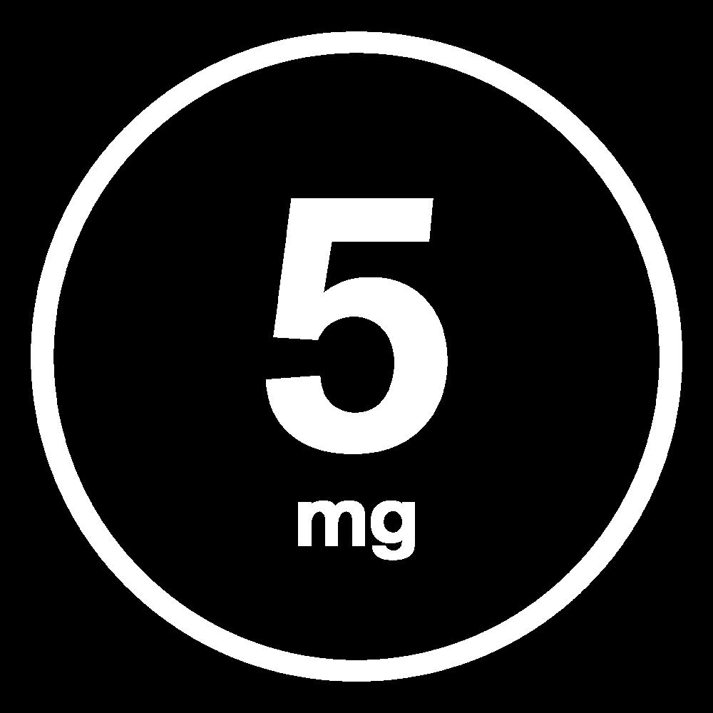 SPOT 5mg THC