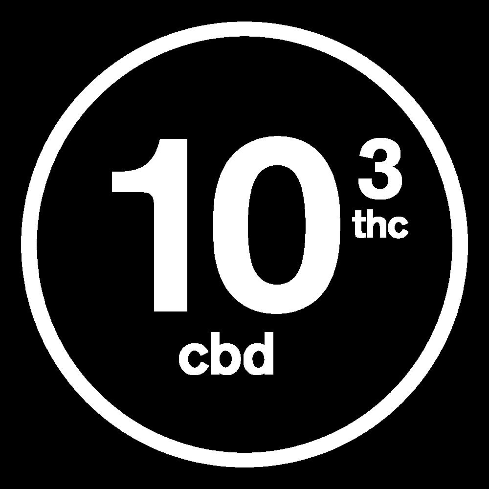 SPOT 10mg CBD/3mg THC
