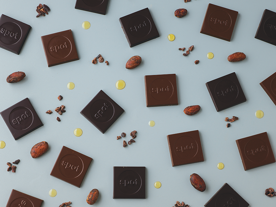 FRENCH COUVERTURE CHOCOLATES - Our small batch chocolates are crafted with only two ingredients: French Couverture chocolate & hand-picked, sun-grown cannabis from organic farmers.