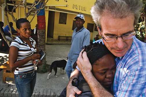 """The 'Moses of Haiti' Bringing Aid to a Shattered Island"" -  Der Spiegel , January 2010"