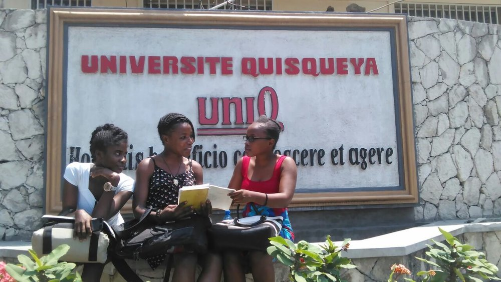 Thanks to The Haitian Project's university scholarship program, Louverture Cleary School alumni go on to attend and graduate from Haitian universities in a country where less than one percent of the population holds a university degree.