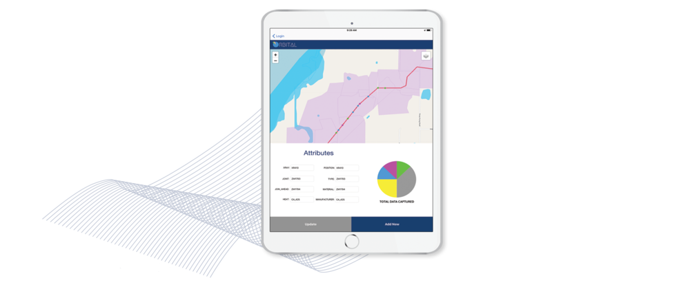 orbital asset data management analytics web software pipeline tool
