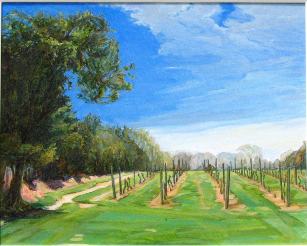 Springtime Vines. 16x20