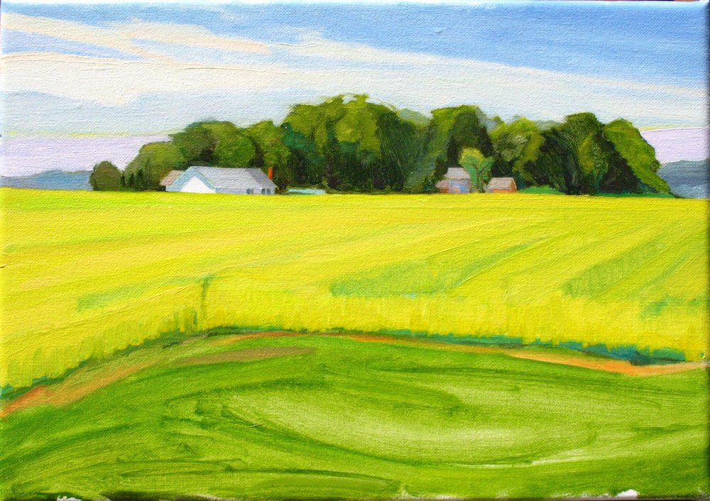 Northville Field. 10x14
