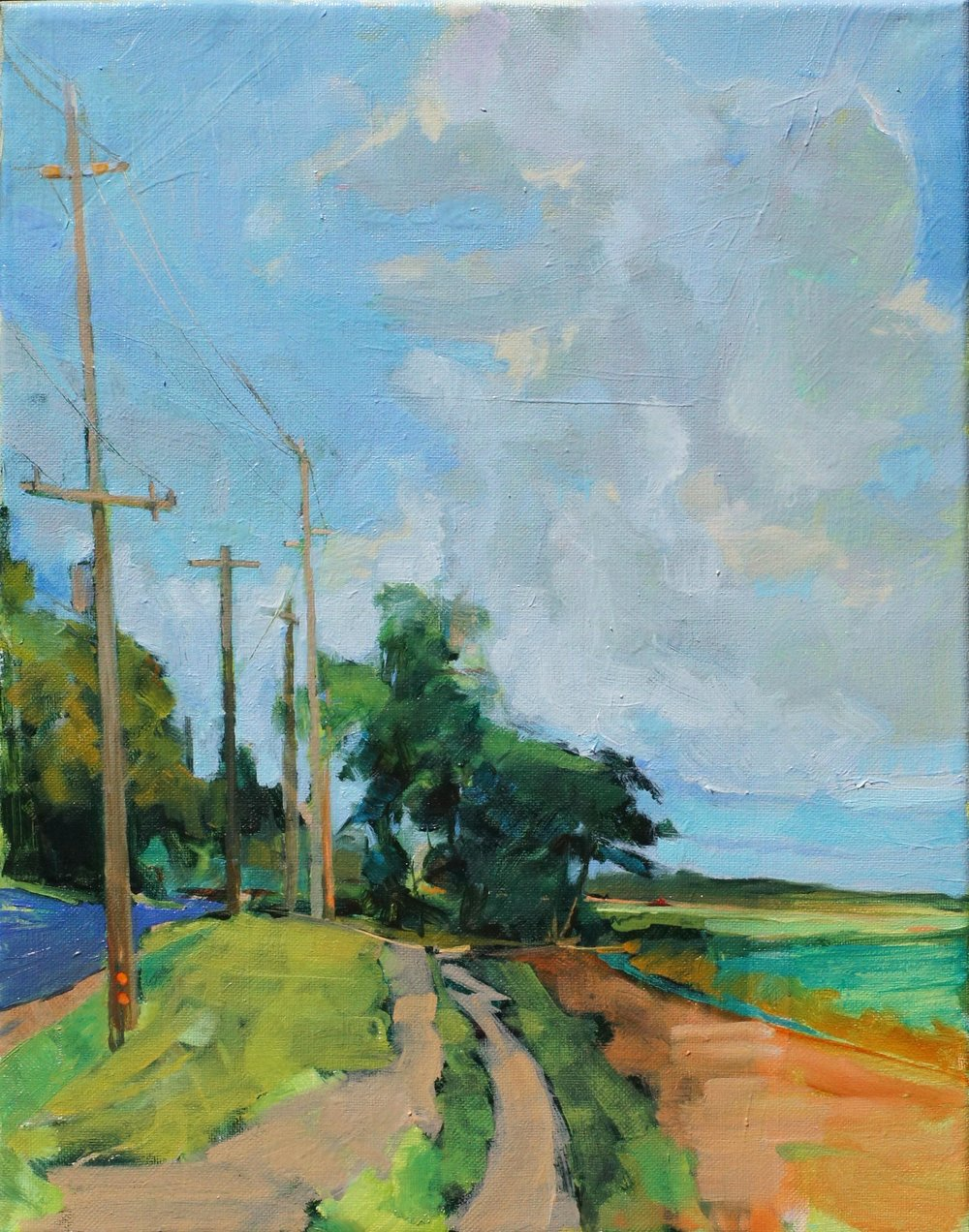 Summer, Sound Ave. 14x11