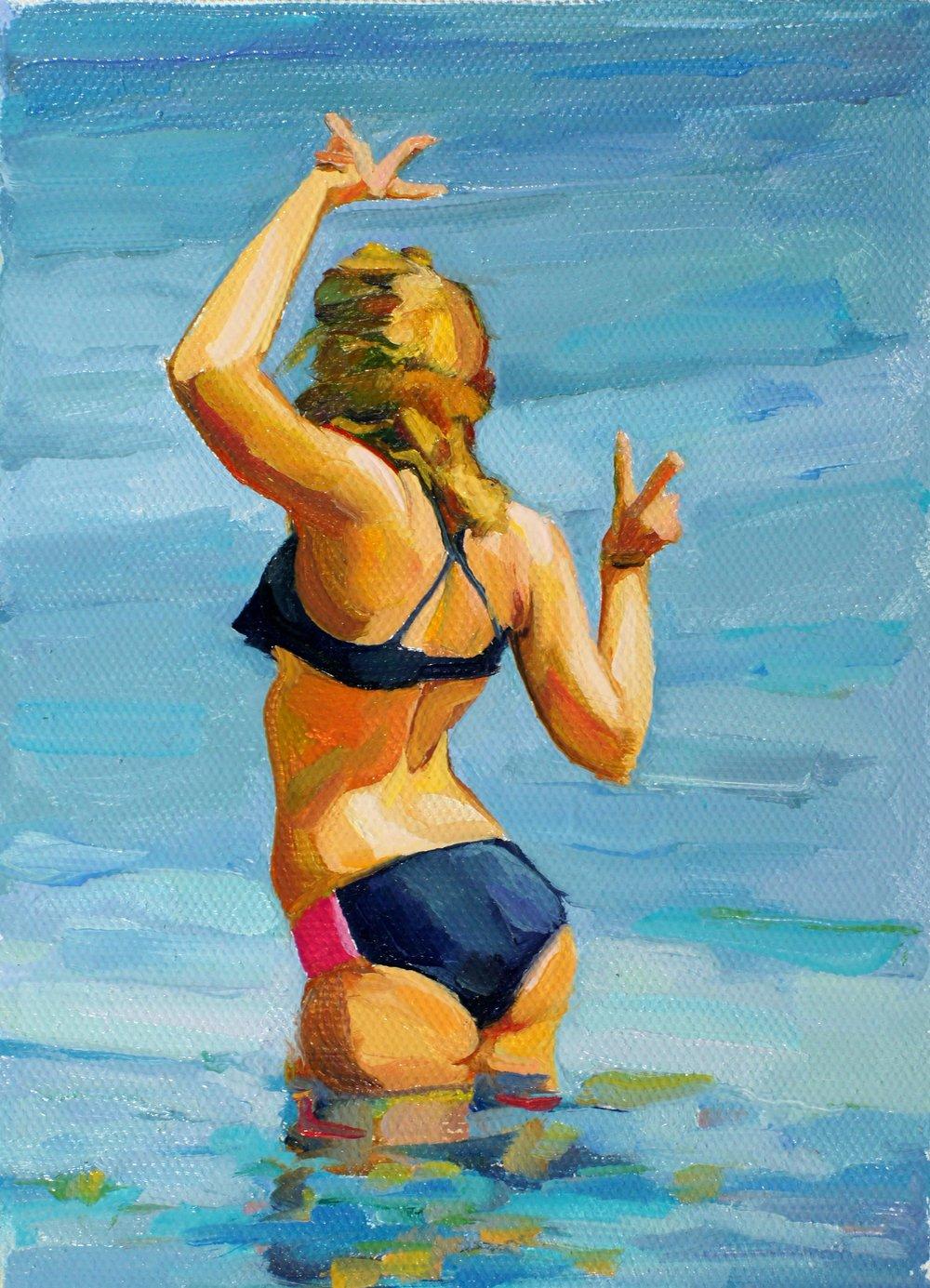 Water Dance. 7x5