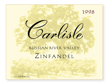 Russian River Valley Zinfandel