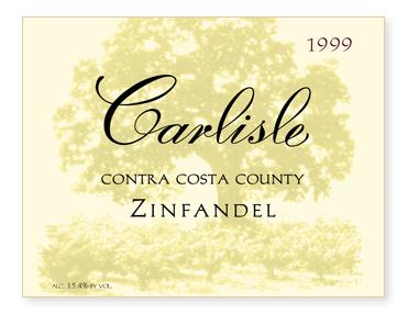 Contra Costa County Zinfandel