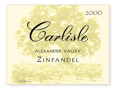 Alexander Valley Zinfandel