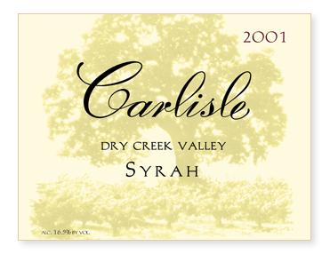 Dry Creek Valley Syrah