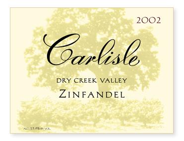 Dry Creek Valley Zinfandel
