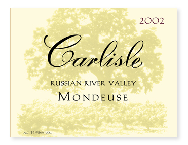 Russian River Valley Mondeuse