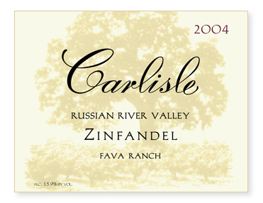 "Russian River Valley ""Fava Ranch"" Zinfandel"