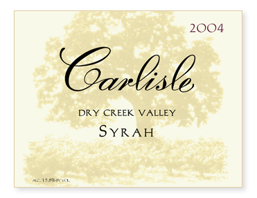 Dry Creek Valley Syrah