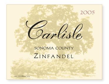 Sonoma County Zinfandel