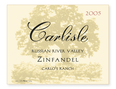 "Russian River Valley ""Carlo's Ranch"" Zinfandel"