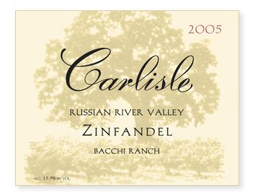 "Russian River Valley ""Bacchi Ranch"" Zinfandel"
