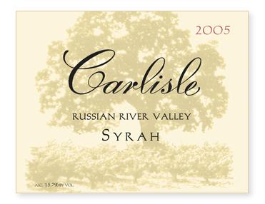 Russian River Valley Syrah