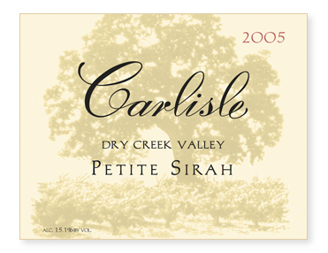 Dry Creek Valley Petite Sirah