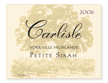 Yorkville Highlands Petite Sirah