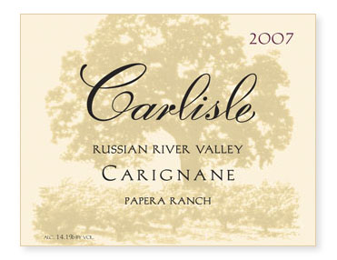 "Russian River Valley ""Papera Ranch"" Carignane"