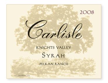 """Knights Valley """"Pelkan Ranch"""" Syrah"""