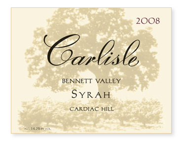 "Bennett Valley ""Cardiac Hill"" Syrah"