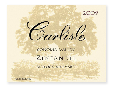 "Sonoma Valley ""Bedrock Vineyard"" Zinfandel"
