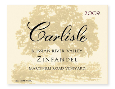 "Russian River Valley ""Martinelli Road Vineyard"" Zinfandel"