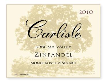 "Sonoma Valley ""Monte Rosso Vineyard"" Zinfandel"
