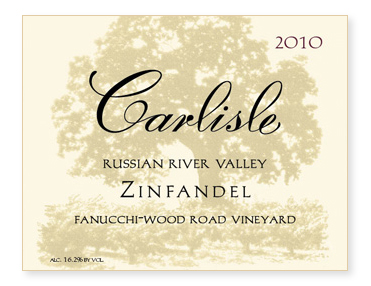 "Russian River Valley ""Fanucchi Wood Road Vineyard"" Zinfandel"