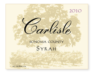 Sonoma County Syrah
