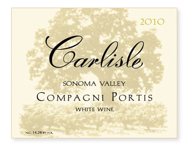 "Sonoma Valley ""Compagni Portis"" White Wine"